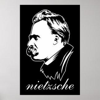 Portrait Mousepad de Frederich Nietzsche Poster