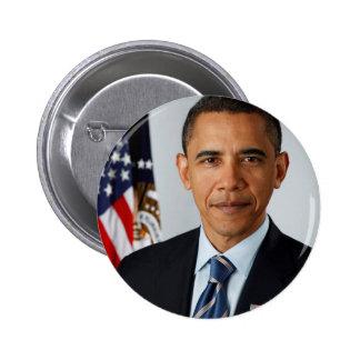 Portrait officiel du Président Barack Obama Badges