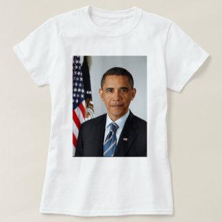 Portrait officiel du Président Barack Obama T-shirt