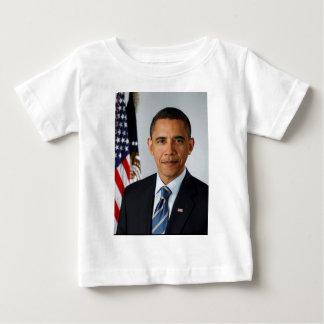 Portrait officiel du Président Barack Obama T-shirt Pour Bébé