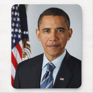 Portrait officiel du Président Barack Obama Tapis De Souris
