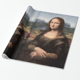 Portrait/peinture de Mona Lisa Papier Cadeau