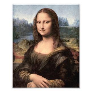 Portrait peinture de Mona Lisa Photographies D'art