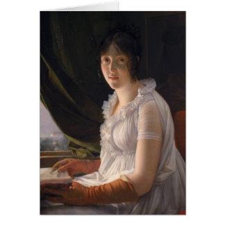 Portrait posé de Marie-Philippe-Claude Carte De Vœux