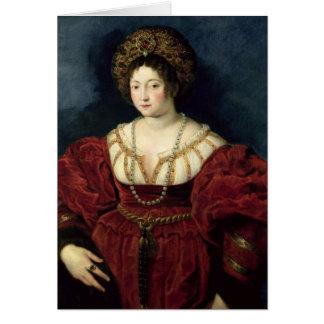 Portrait posthume de d'Este d'Isabella Cartes