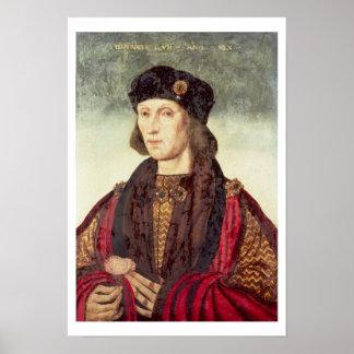 Portrait T31778 de Henry VII (1457-1509) Posters