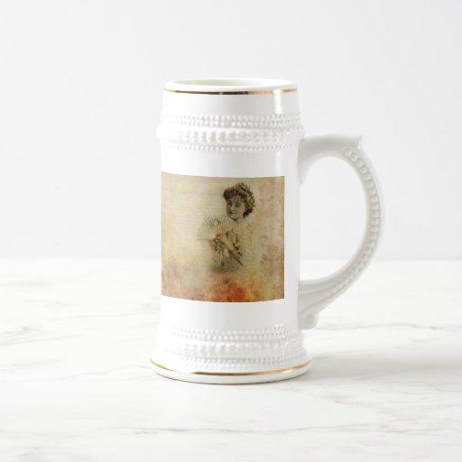 Portrait vintage à partir de 1900 s d'actrice de f mugs