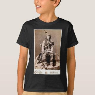 Portrait vintage de Natif américain de l'Indien T-shirt