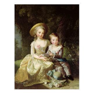 Portraits d'enfant de Marie-Therese-Charlotte Cartes Postales