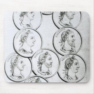 Portraits des empereurs romains tapis de souris