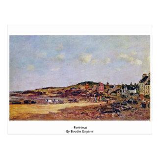 Portrieux par Boudin Eugène Cartes Postales