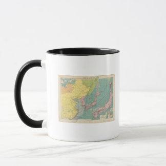 Ports chinois et japonais mug