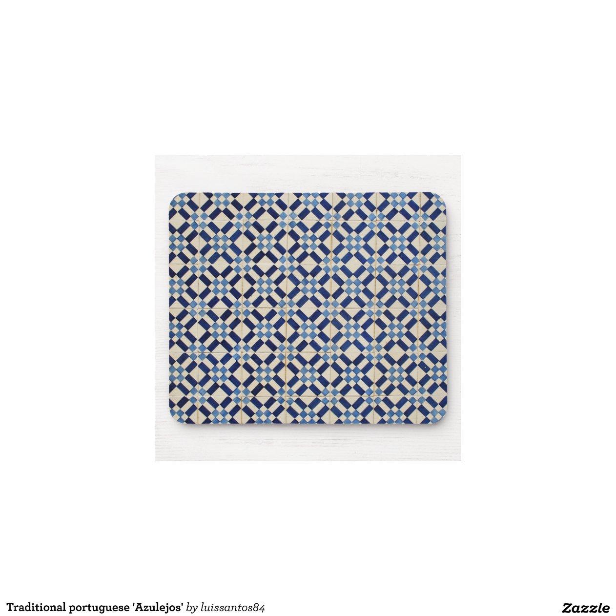 portugais traditionnel 39 azulejos tapis de souris zazzle. Black Bedroom Furniture Sets. Home Design Ideas