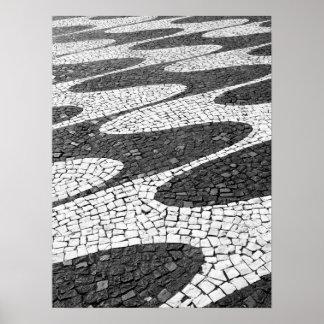 Portuguesa de Calçada Poster