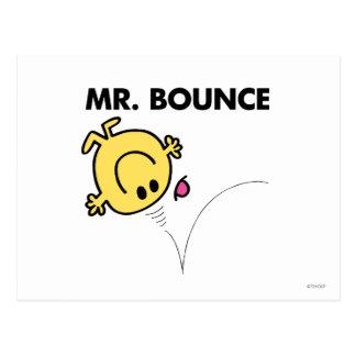 Pose classique de M. Bounce | Carte Postale