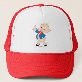 Pose classique grosse du porc | casquette