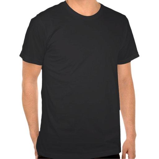Pose du culturisme des hommes t-shirt