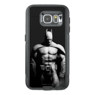Pose large noire et blanche de la ville | Batman