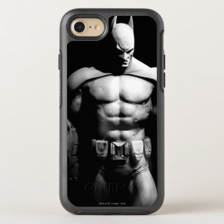 Pose large noire et blanche de la ville | Batman Coque OtterBox Symmetry iPhone 8/7