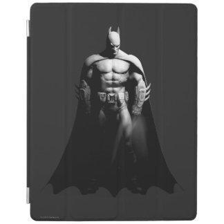 Pose large noire et blanche de la ville | Batman Protection iPad