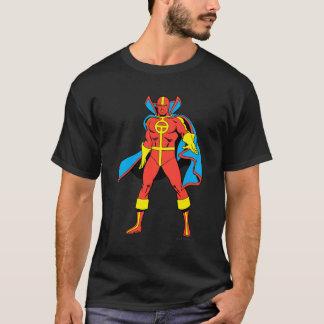 Pose rouge de tornade t-shirt