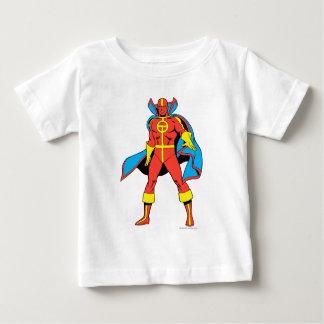 Pose rouge de tornade t-shirt pour bébé