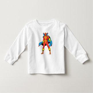 Pose rouge de tornade t-shirt pour les tous petits