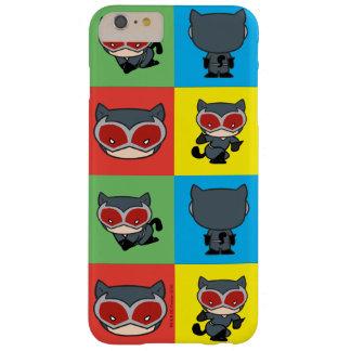 Poses de caractère de Catwoman de Chibi Coque iPhone 6 Plus Barely There