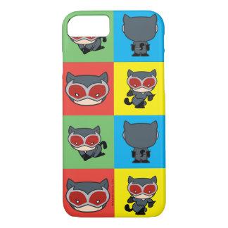 Poses de caractère de Catwoman de Chibi Coque iPhone 7
