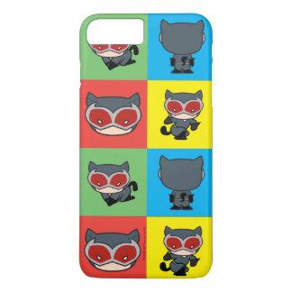Poses de caractère de Catwoman de Chibi Coque iPhone 7 Plus