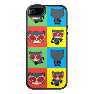 Poses de caractère de Catwoman de Chibi Coque OtterBox iPhone 5, 5s Et SE