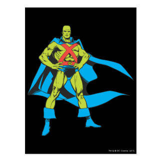 Poses martiennes de Manhunter Carte Postale