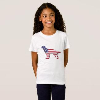 "Poseur anglais - ""drapeau américain "" T-Shirt"