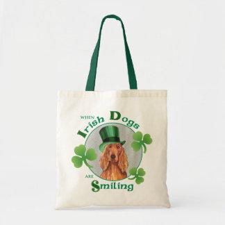 Poseur irlandais du jour de St Patrick Sacs De Toile