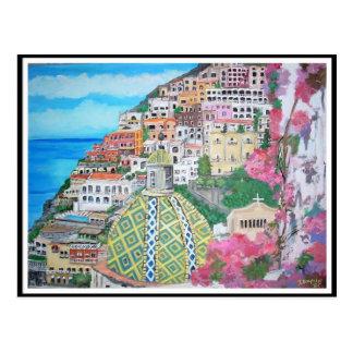 Positano, Italie - carte postale