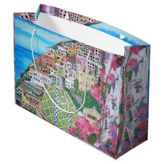 Positano - sac fait sur commande de cadeau -
