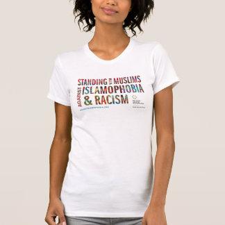 Position avec des musulmans contre l'islamophobie t-shirt