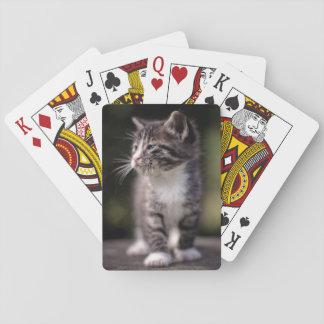 Position de chaton et strabisme jeu de cartes