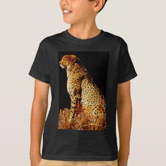 Position de guépards t-shirt