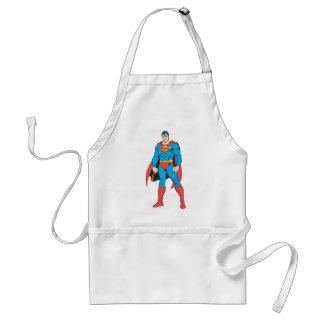 Position de Superman Tablier