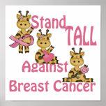 position grande contre le cancer du sein posters