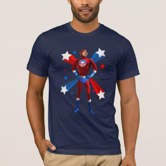 Position héroïque t-shirt