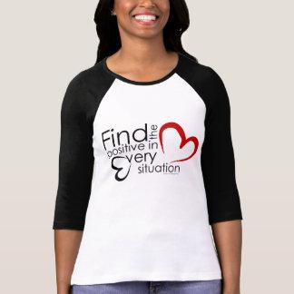 Positivité de découverte t-shirts