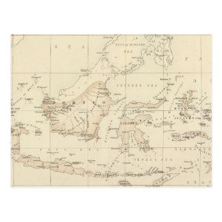 Possessions néerlandaises dans l'archipel indien carte postale