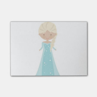 Post-it® 4 x 3 notes de post-it -- Elsa Animated de congelé