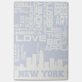 Post-it® Affiche de typographie de New York City