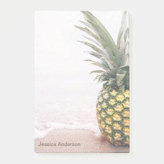 Post-it® Ananas tropical avec le nom