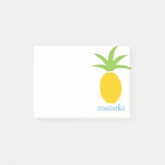 Post-it® Ananas tropical coloré personnalisé