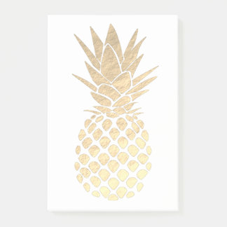 Post-it® ananas tropical d'or