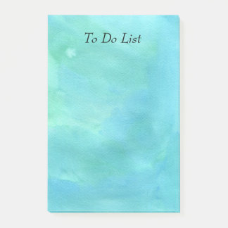 Post-it® Aquarelle bleue